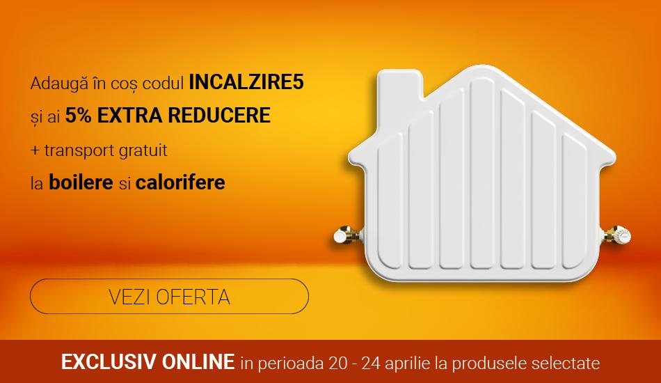 Reducere boilere si calorifere